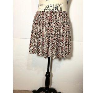 Brandy Melville  mini skirt Aztec print(Fits XS/S)